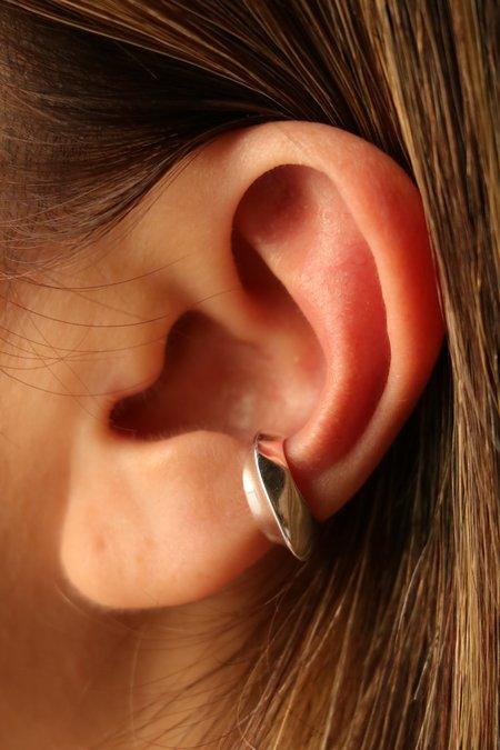 Faris Aero Ear Cuff earrings - Sterling Silver