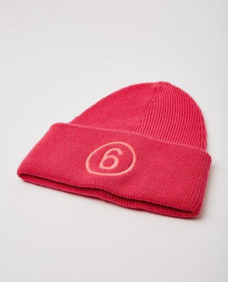 Maison Margiela Logo Beanie - Pink