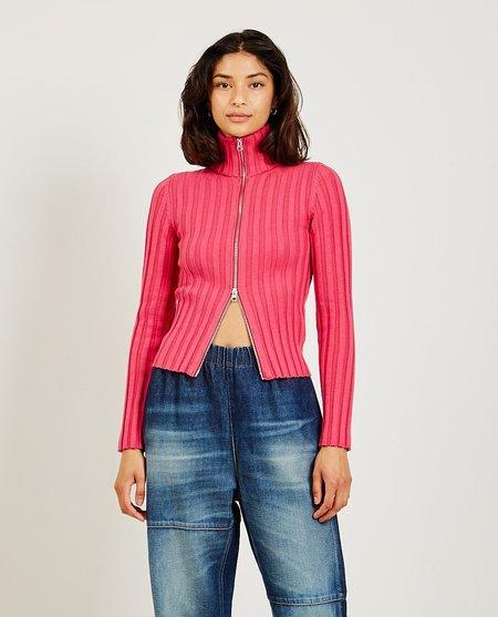 Maison Margiela Zip Sweater - Pink