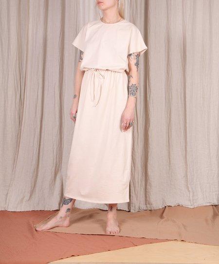 The Club Siri Dress - Beige