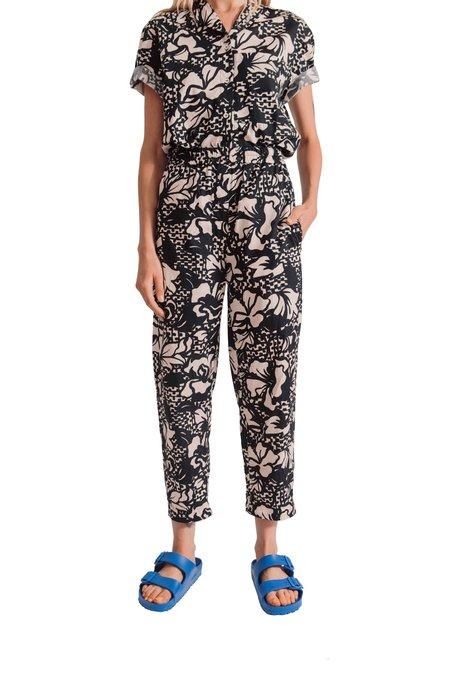 Tela Rivoli Print pants - Black Natural Print