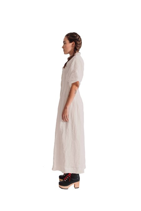 Tela Warm dress - White