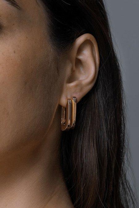 Jenny Bird U-Link Earrings - Gold