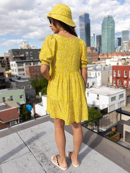 Find Me Now Beckett Mini Dress - yellow
