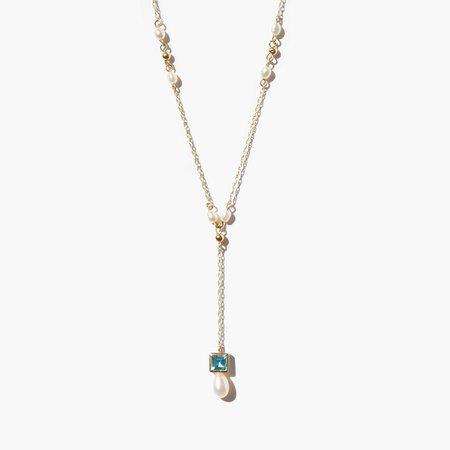 Kindred Black Bingham Necklace - 14k gold