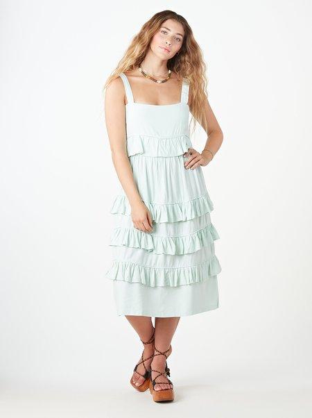Tach Clothing Filippa Linen Dress - LIGHT BLUE