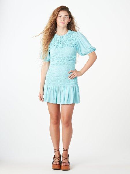 Tach Clothing Marga Dress - TURQUOISE
