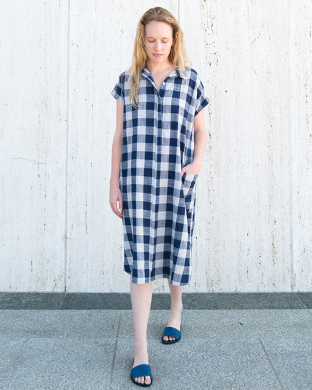 Esby DARBY SHIRT DRESS - PLAID