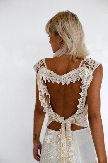 Sydney Pimbley Cherub Top - white