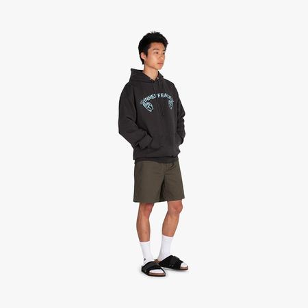 Good Morning Tapes Inner Peace Pullover Hoodie sweater - Black