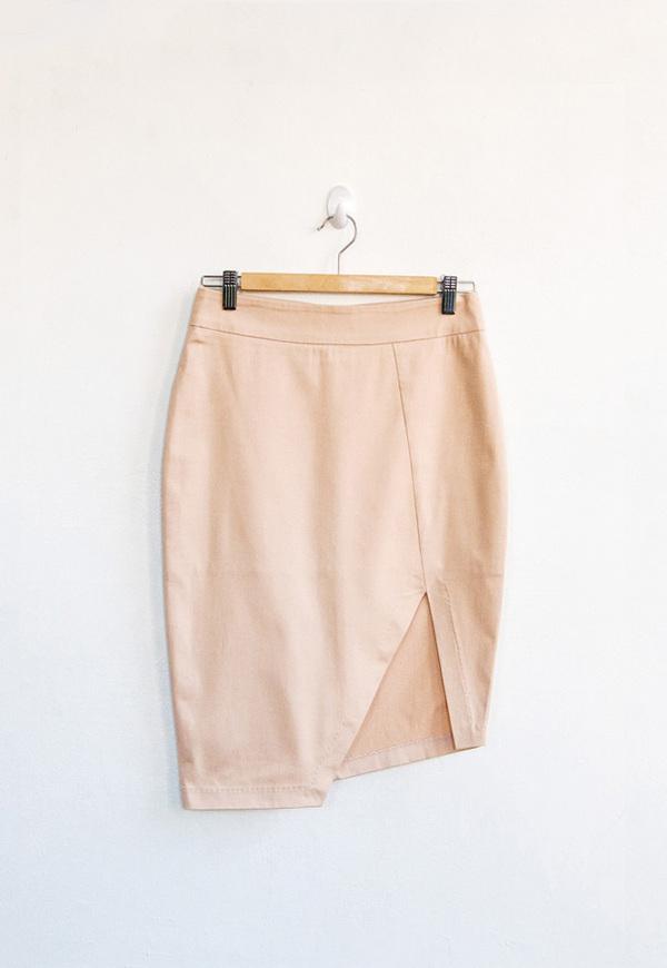 Vestige Symmetry Pencil Skirt