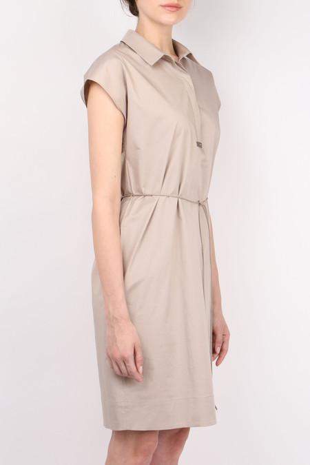 Peserico Twinkle Tie Dress - Beige