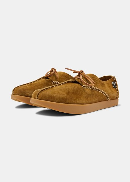 Yogi Footwear Lennon Suede Shoe - Moss Green