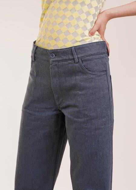 Baserange Indre Pants - Dark Grey