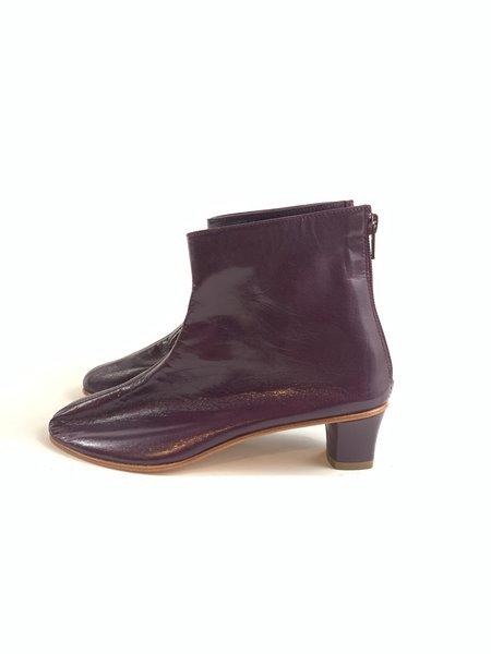 Martiniano High Leone Boots - Plum