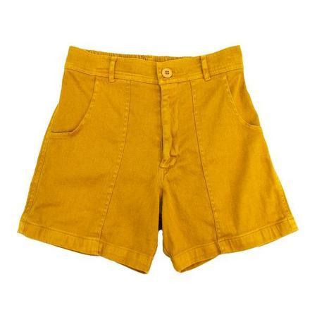 unisex Jungmaven Venice Shorts - Marigold