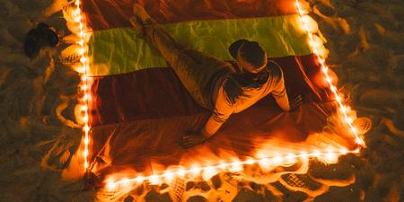 ENO Islander LED Blanket - Sunshine