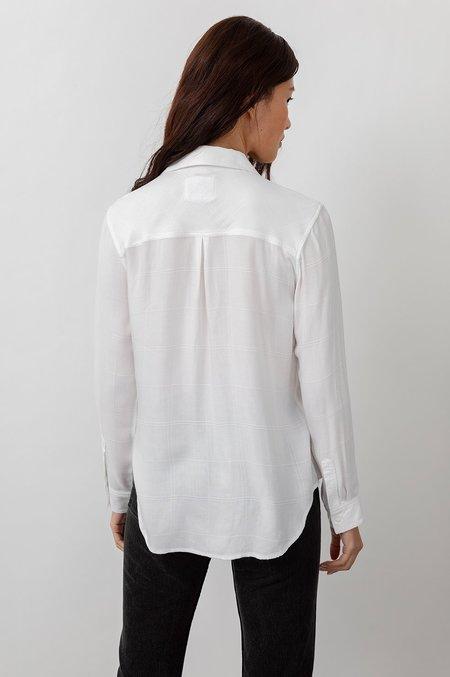 Rails Hunter Shirt - Ivory Check