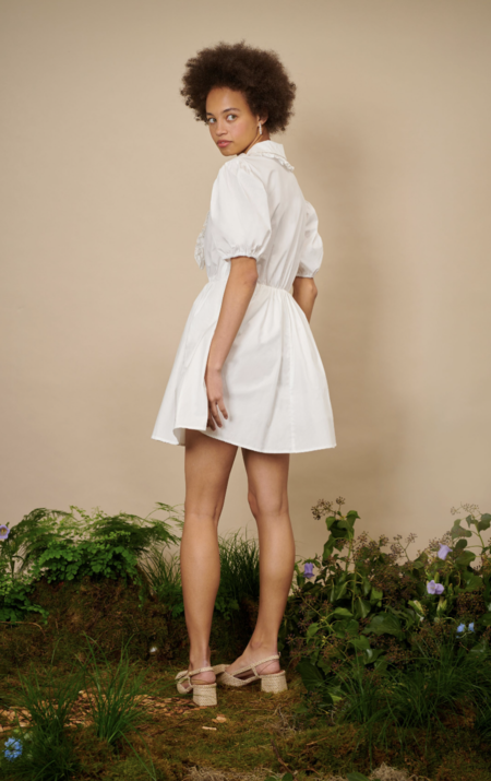 Sister Jane Lily of the Valley Mini Dress - Ivory