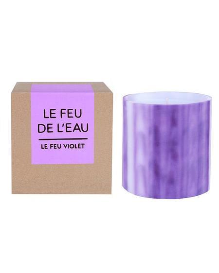 Le Feu De L'Eau Candles - Grapefruit / Tobacco VIOLET
