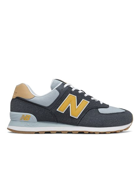 New Balance 574 shoes - Outerspace/Varsity Gold