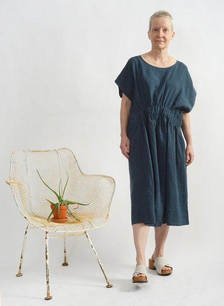 Meg Elastic Dress Petrol