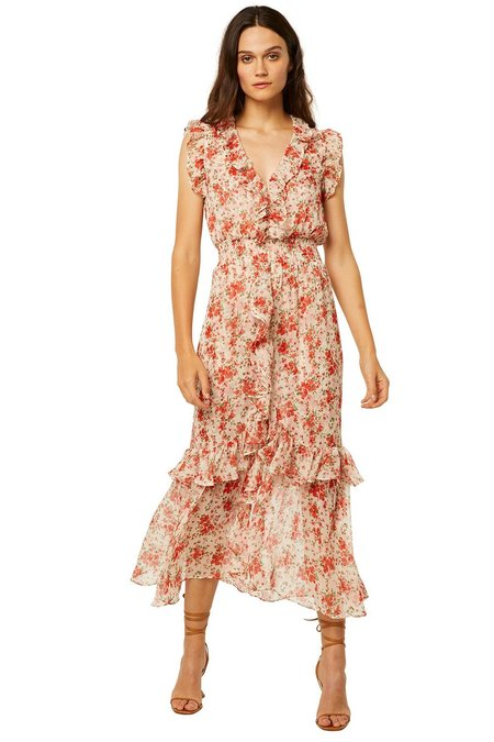 Misa Los Angeles Kidada Dress - poppy
