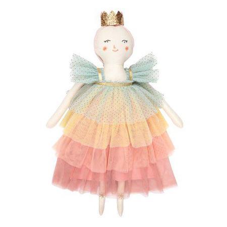 kids meri meri rainbow ruffle princess doll