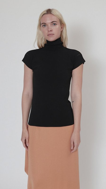 Issey Miyake Cotton Baguette A-POC Top - Black