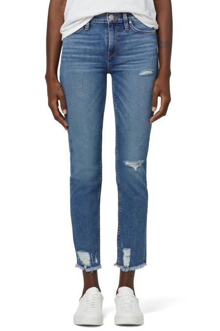Hudson Jeans Nico Mid-Rise Straight Crop Jean - Seaglass