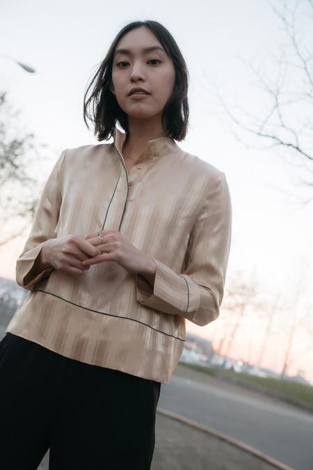 Ganni Kendall Silk Top