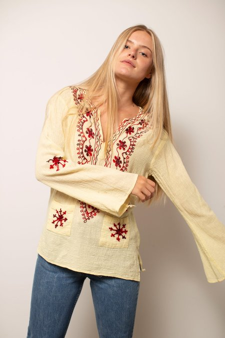 Vintage Long Sleeve 70's Top
