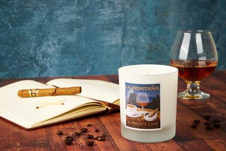 LA MONTAÑA Alfredo's Café Candle