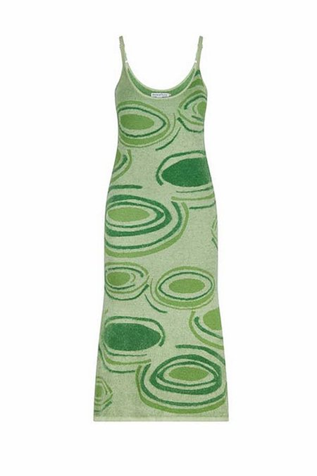 House of Sunny Hockney Dress - Lily Pad