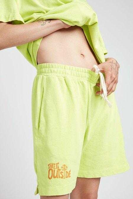 UNISEX Back Beat Co. Everybody Shorts - Celery