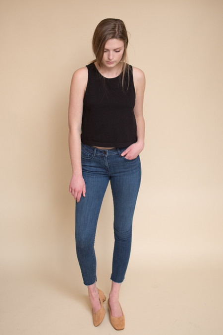 3x1 NYC Midway Skinny Crop Jean - Dundee