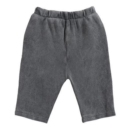 kids Bobo Choses Baby Geometric Knee Print Sweatpants - Grey