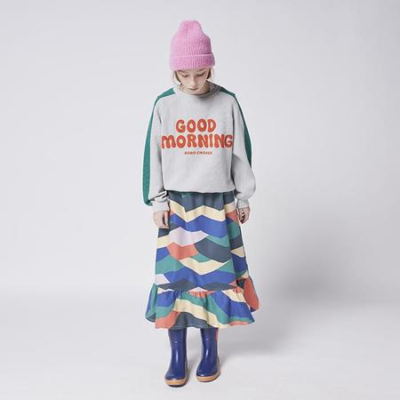 kids Bobo Choses Child Good Morning Print Sweatshirt - Grey