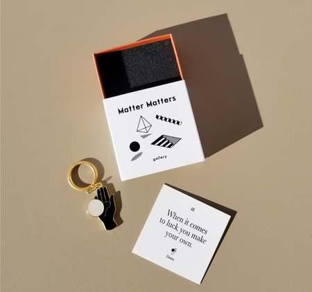 MATTER MATTERS Chance Keychain - Black