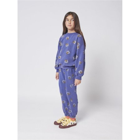 kids bobo choses birdie all over jogging pants - blue