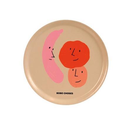 kids bobo choses fruits round tray