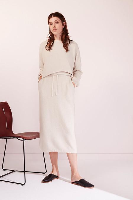 KOWTOW Freeway Skirt in Natural Marle