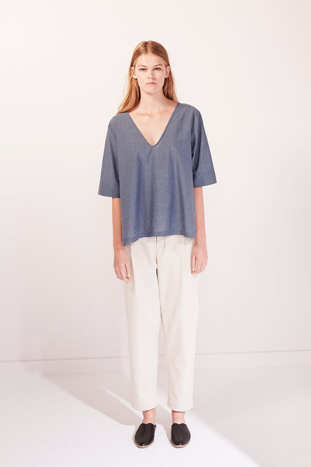 KOWTOW Radius Top in Chambray