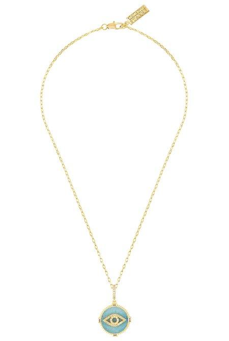 Celeste Starre I Am Protected Necklace - Gold
