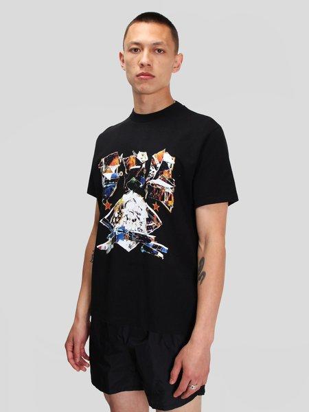 Our Legacy Box T-Shirt - Black Moto Print