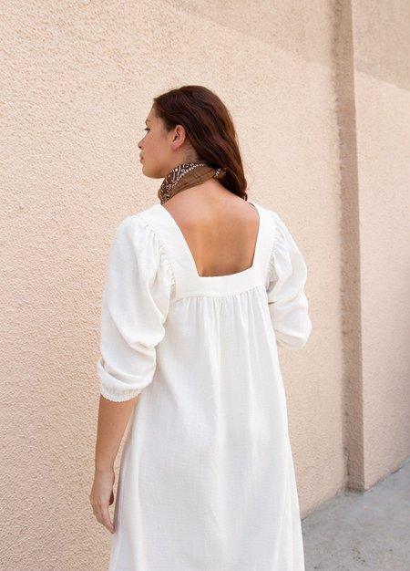 Rachel Pally Linen Simone Dress - Cloud