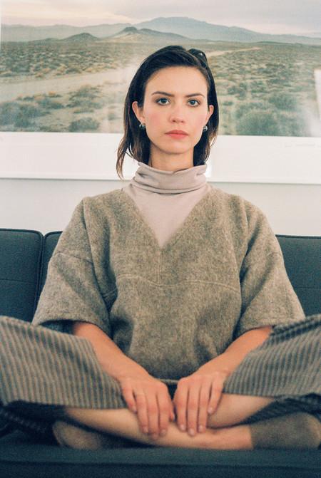 Lily Stan Studio Oatmeal Wool Box Top