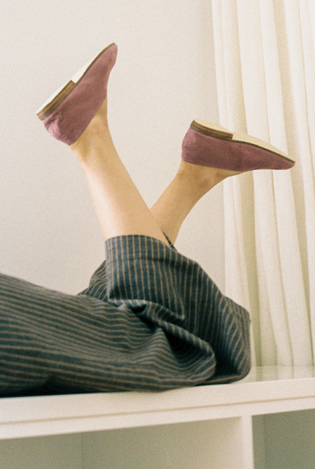 Solid State Rose Slip On Shoe