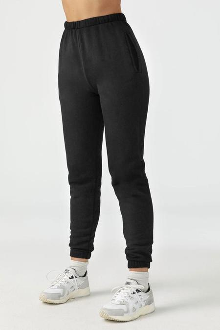Joah Brown Empire French Terry Jogger - Black