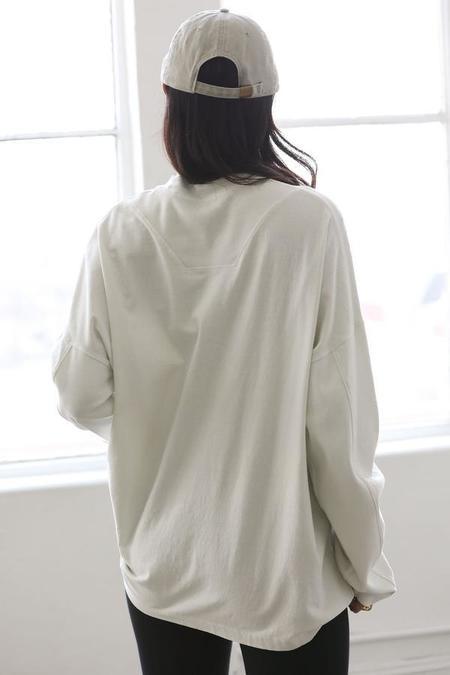 Joah Brown Vintage Long Sleeve - Off White